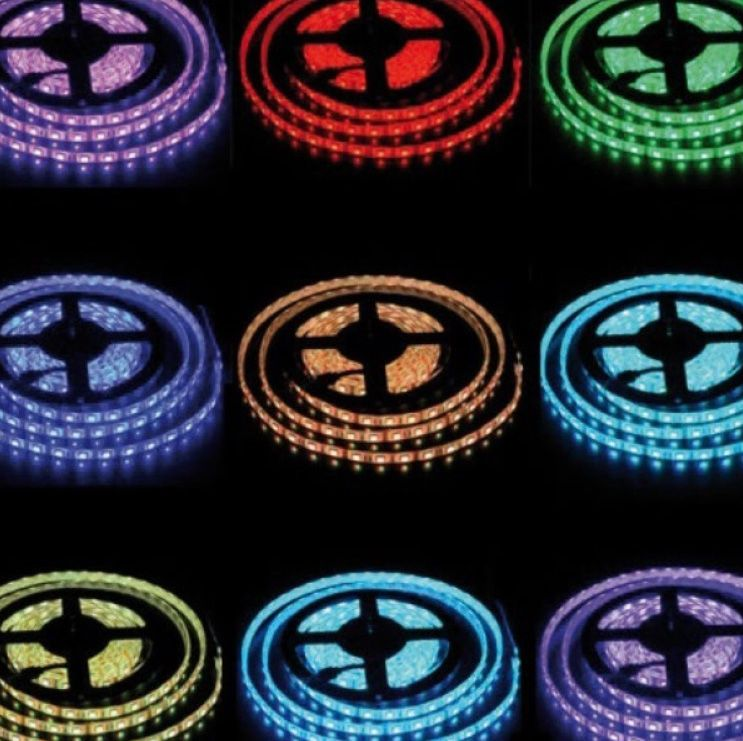 HoL RGB LED strips waterdicht IP65