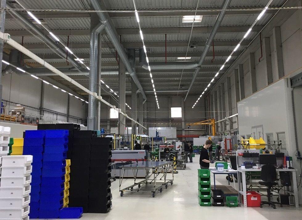 InduLED verlichting voor vliegtuigonderdelen
