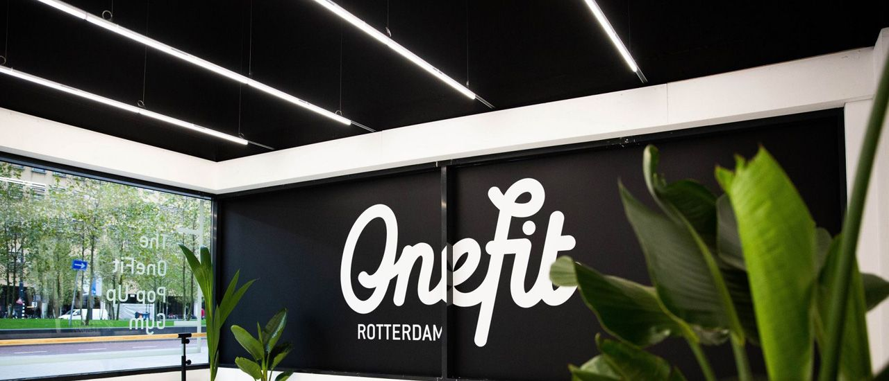 OneFit pop-up store Rotterdam